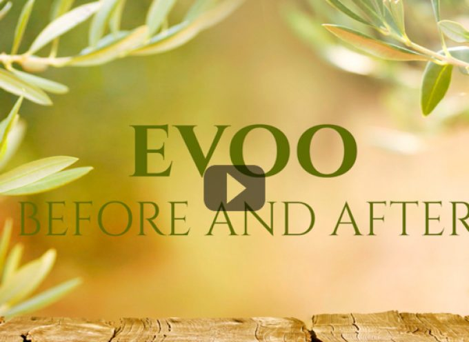 EVOO before and after
